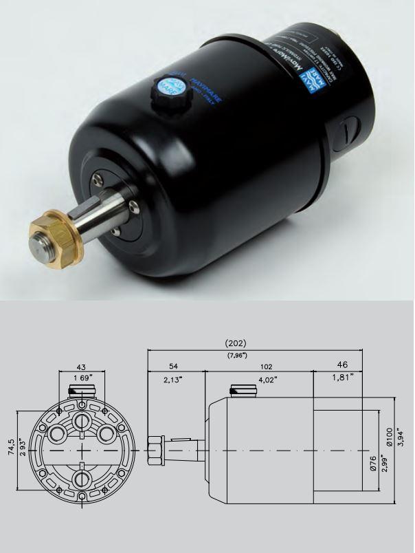 pompe direction hydraulique mavimare gf150brt